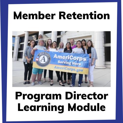member retention program director learning module